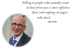 Selling to people who actually want 