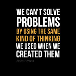 WE CAN'T SOLVE 