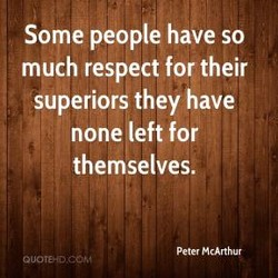 Some people have so 
