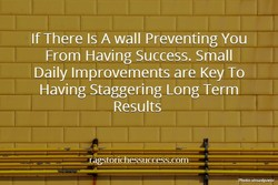 If There Is A wall Preventing You 