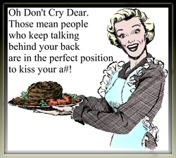 Oh Don't Cry Dear. 