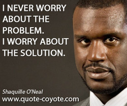 I NEVER WORRY 