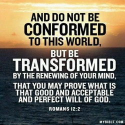 AND DO NOT BE 
