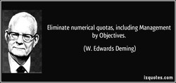 Eliminate numerical quotas, including Management 