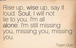 Rise up, wise up, say it 