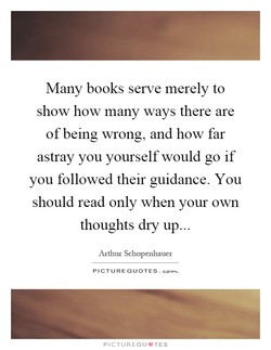 Many books serve merely to 