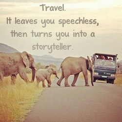 Travel. 