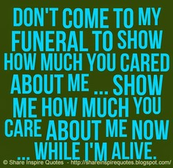 DON'T COME TO MY 