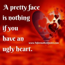 pretty face 