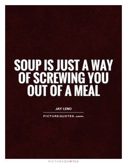 SOUP JUST AWAY 