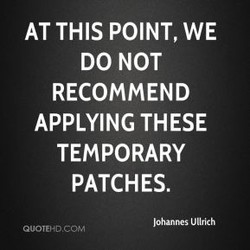 AT THIS POINT, WE 