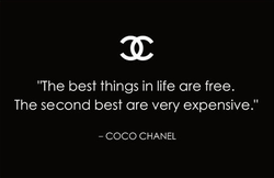 'The best things in life are free. 