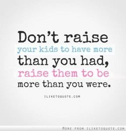 Don't raise 