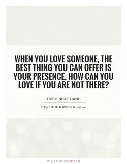 WHEN YOU LOVE SOMEONE, THE 