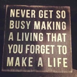 NEVER GET SO 