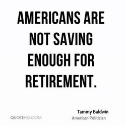 AMERICANS ARE 
