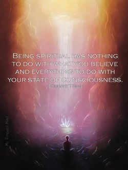 BEING SPIRITUALIHAS NOTHING 
