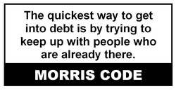 The quickest way to get 