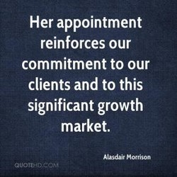 Her appointment 