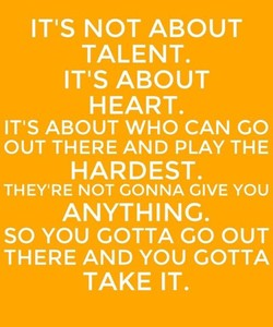 ITS NOT ABOUT 