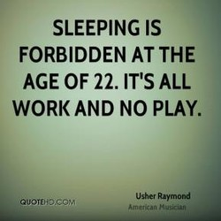 SLEEPING IS 