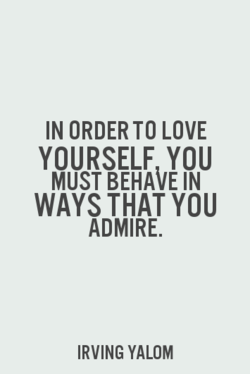 IN ORDER TO LOVE 