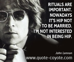 RITUALS ARE 