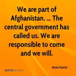 We are part of 