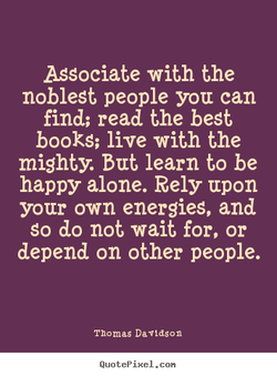 Associate with the 