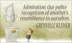 Admiration: Our polite 