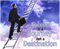 speech on success is a journey not a destination Speaker: jesse daley transcript: success is a journey not a destination inspirational speech it is often said that success occurs when preparation meets opportunity now, opportunities will undoubtedly present themselves with time, but how are you treating yourself through all of the time.