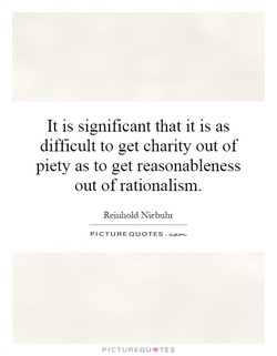 It is significant that it is as 