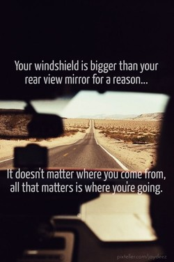 Your windshield is bigger than your 