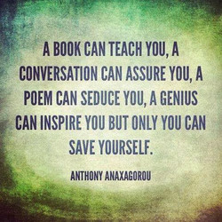 A BOOK CAN TEACH YOU, A 