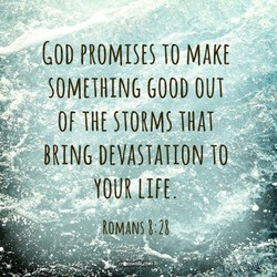 GOD PROMISES TO MAKE 