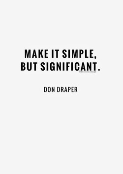 MAKE IT SIMPLE, 