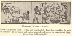 EGYPTIAN MARKET SCENES 