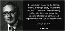 Depopulation should be the highest 