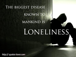 THE BIGGEST DISEASk 