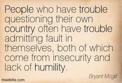 People who have trouble 