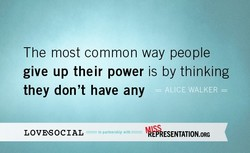The most common way people 