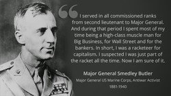 I served in all commissioned ranks 