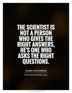THE SCIENTIST IS 