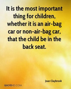 It is the most important 