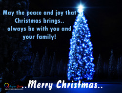 May the peace and joy that 