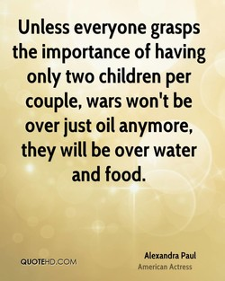 Unless everyone grasps 