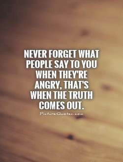 NEVER FORGET WHAT 