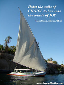 Hoist the sails of 