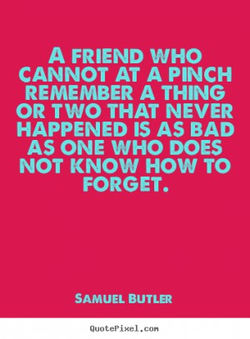 A FRIEND WHO 