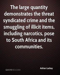 The large quantity 